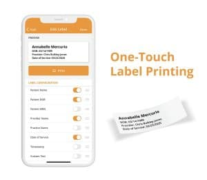 How to easily print specimen labels with Mobius Clinic